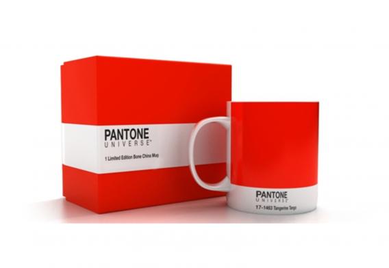 "Pantone color ""tangerine tango"""
