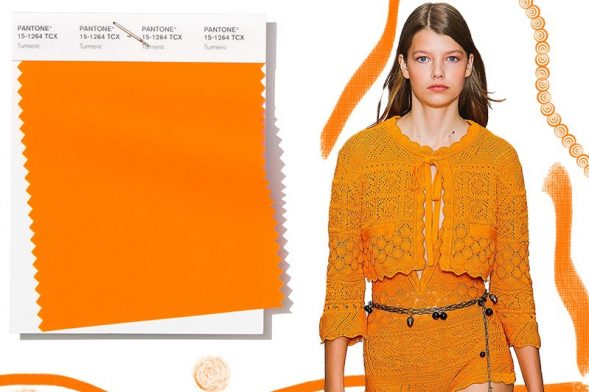 Blank Hats vs Custom Hats: Which One Right for You? - image spring_summer_2019_Pantone_colors_trends_turmeric-589x392 on http://blog.delusionmfg.com