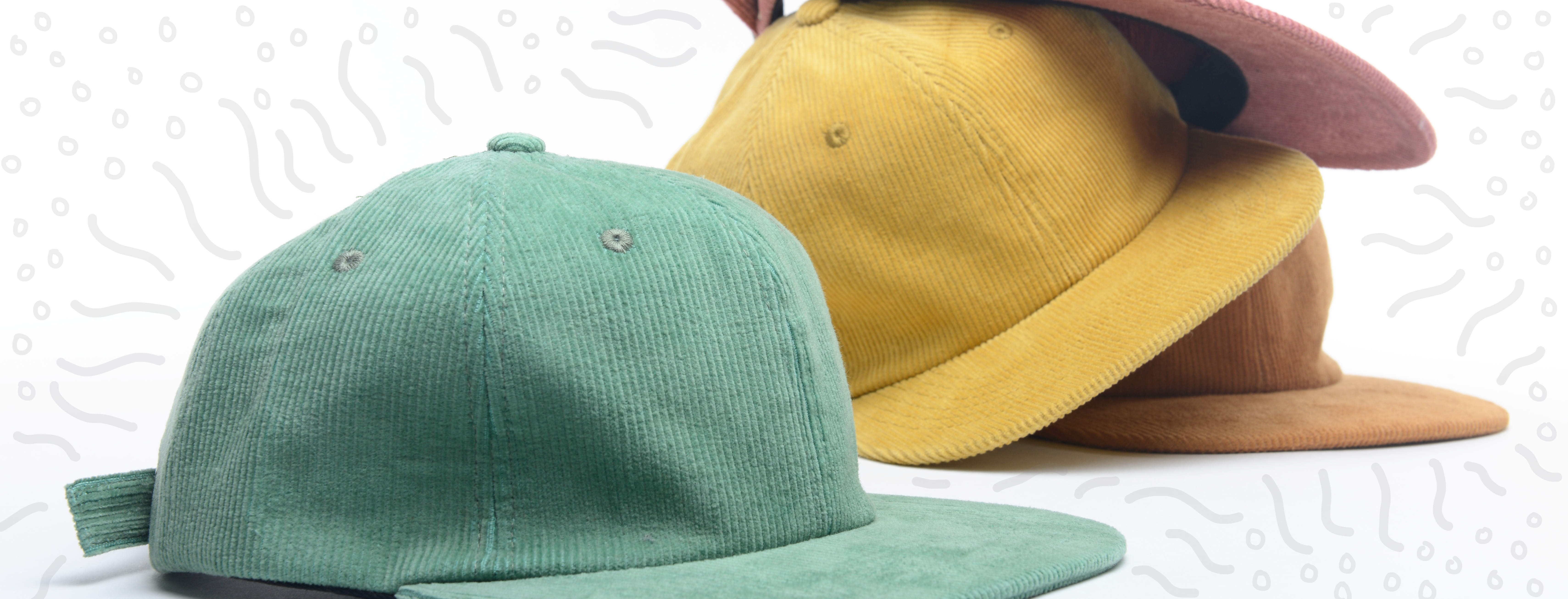 Blank Hats vs Custom Hats: Which One Right for You? - image Delusion-Web-Banner on http://blog.delusionmfg.com