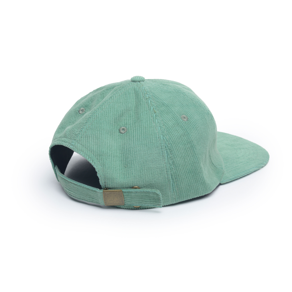 6 panel unconstructed corduroy hat
