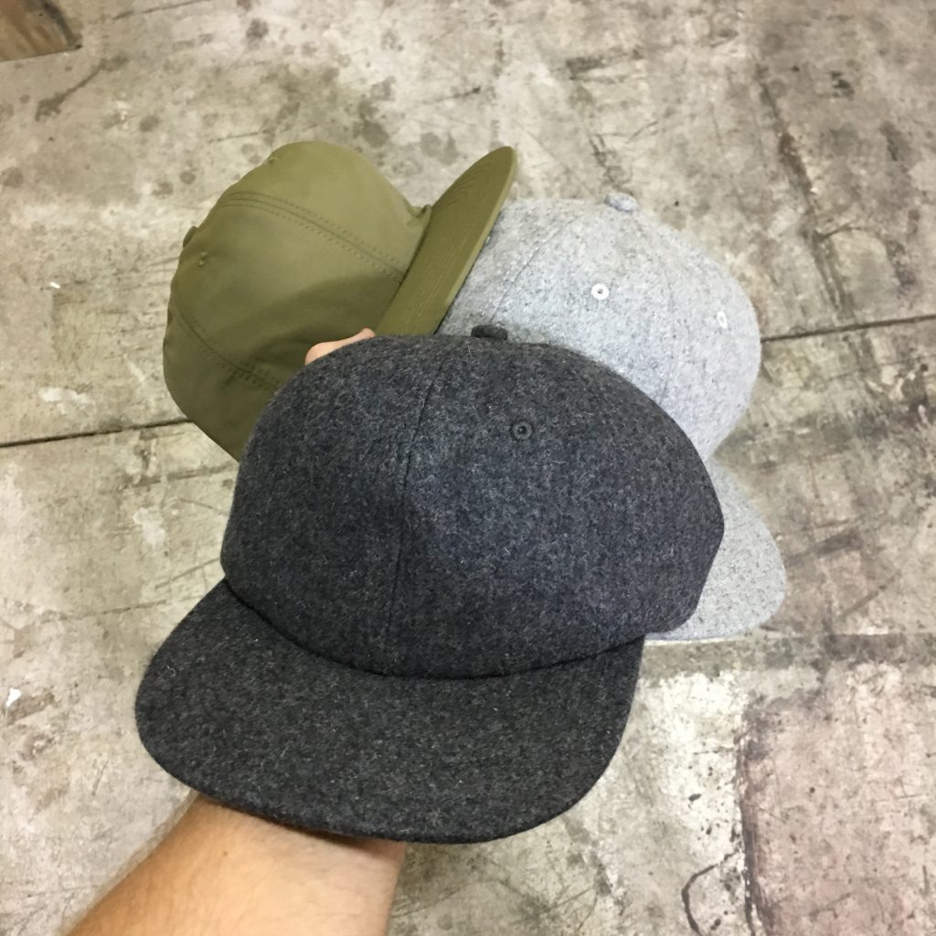 Unconstructed deep fit hats