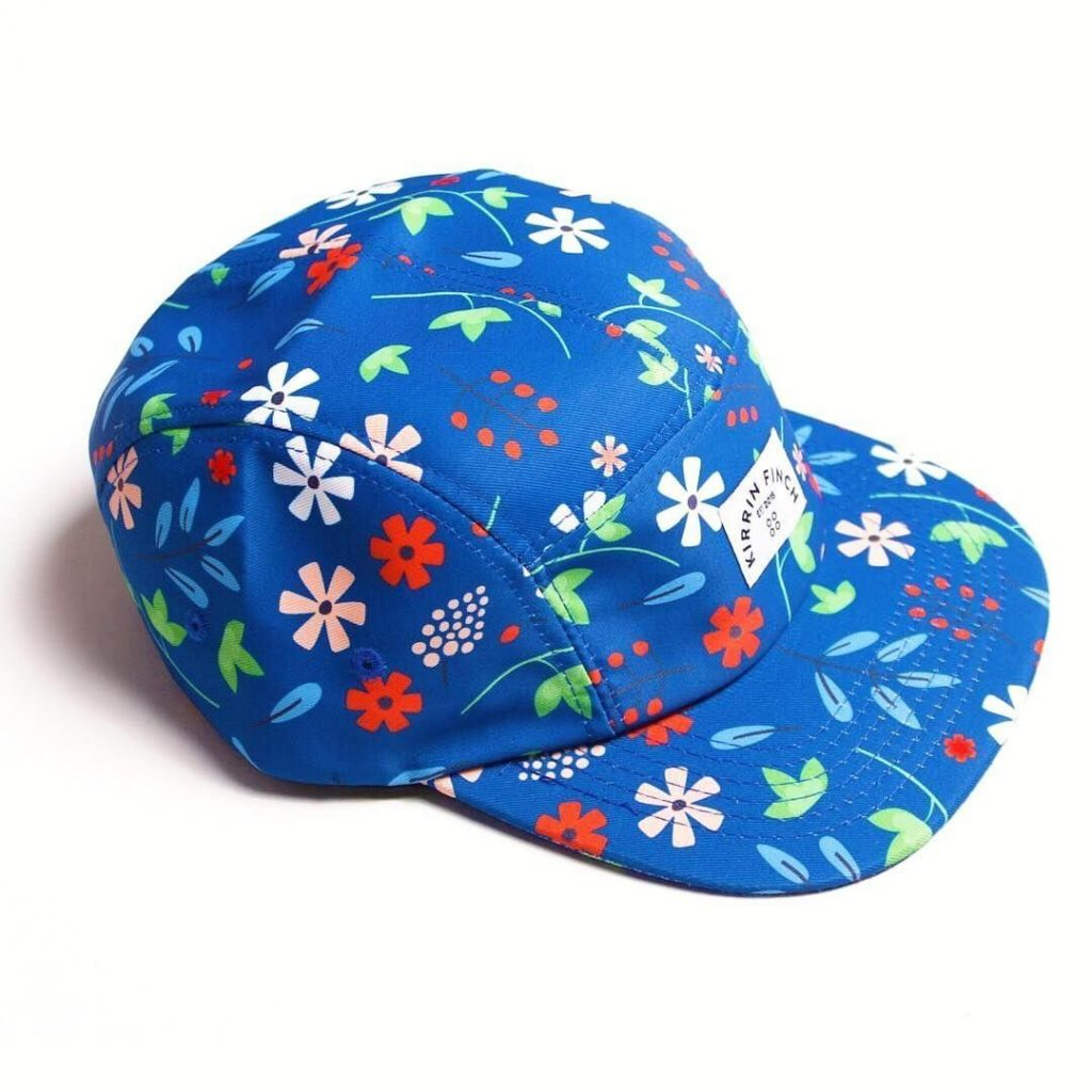 5 panel hat with sublimation printing