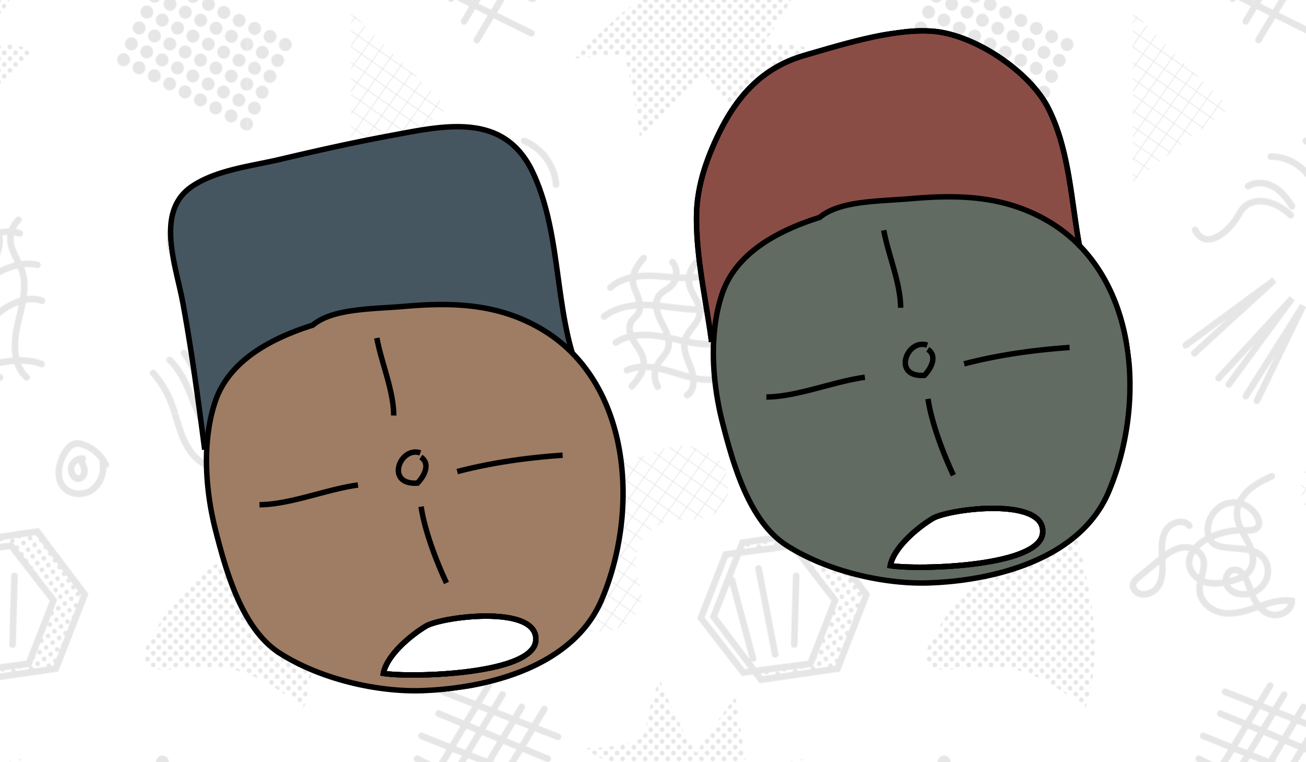 Old & New School: Rounded VS Square Brims